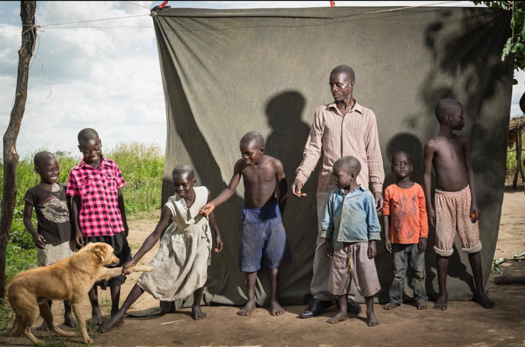 """""""The children are my future. I have 6, 4 go to school. If I educate my children I have a future too. The Field Crop program has helped a lot and I have big hopes. I want to buy goats and pay for school fees."""""""